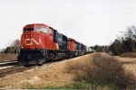 CN 5759 SOUTH LOADED GRAIN